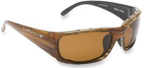 Native Eyewear Native Polarized Eyewear Bomber Wood/Brown