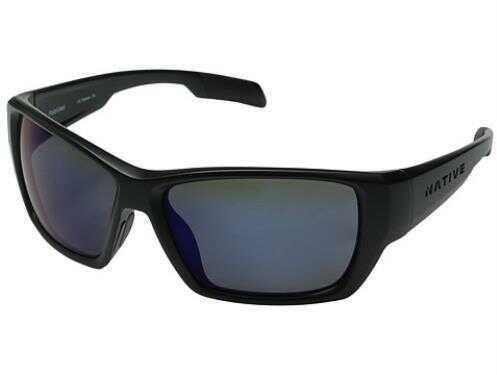 Native Eyewear Native Polarized Eyewear Ward Asphalt/Blue Reflex Model: 173 302 526