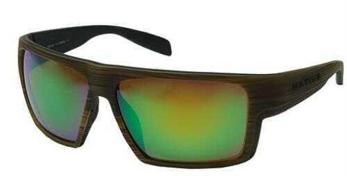 Native Eyewear Native Polarized Eyewear Eldo Wood Blk/Grn Reflex Model: 177 903 529
