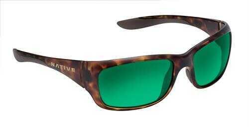 Native Eyewear Native Polarized Eyewear Kannah Tort/Green Reflex Model: 178 312 529