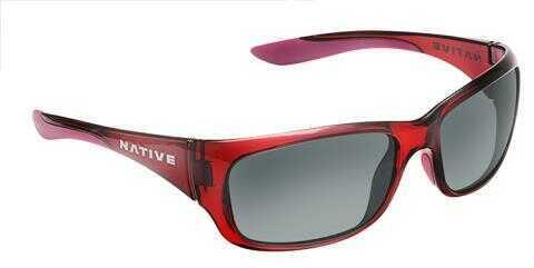 Native Eyewear Native Polarized Eyewear Kannah Crisson/gray Model: 178 399 523