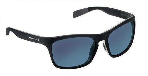 Native Eyewear Native Polarized Eyewear Penrose Asphalt Crys/Blue Refl Model: 179 907 526