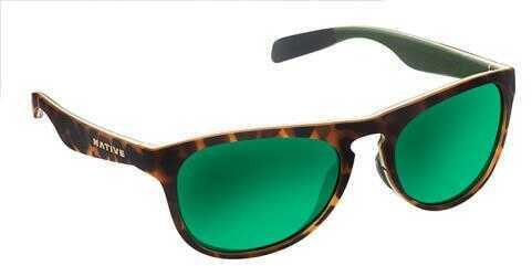 Native Eyewear Native Polarized Eyewear Sanitas Tort Yel Grn/Grn Refle Model: 180 909 529