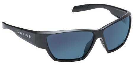 Native Eyewear Native Polarized Eyewear Wolcott Asphalt/Blue Reflex Model: 181 302 526