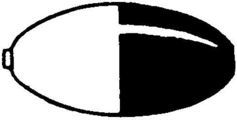 Plastilite Floats Plastilite Oval Float Balsa 4in Rw 12bx BW940