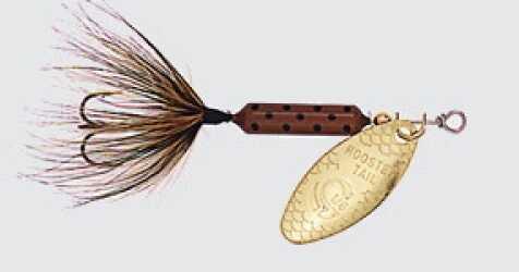 Yakima / Hildebrandt Rooster Tails 1/8 Pumpkinseed 12/bx 208-PMSD