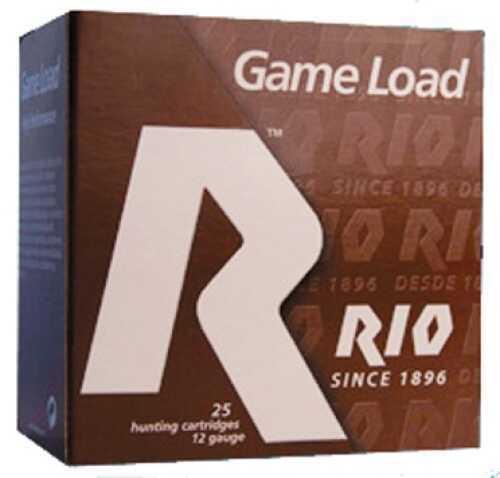 Rio Ammunition Rio Shotshells Game Load 12ga Ammo 2-3/4 1oz 3De 250 rounds BG28-8