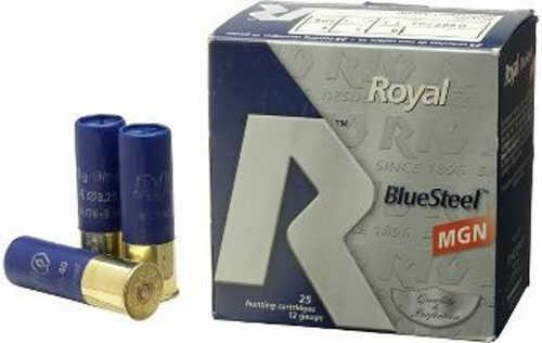 Rio Ammunition Rio Blue Steel Super Magnum Ammo 12ga 3.5in 1-9/16 25Box/10Case