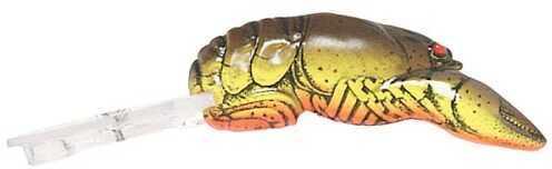 Pradco Lures Rebel Deep Teeny Wee Crawfish 2 3/8in 3/8oz Chartreuse/Brown D7667
