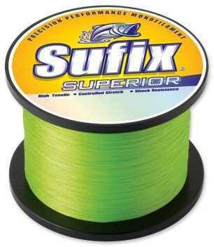 Normark Sufix Superior Monofilament Line 2kg 2890 Yards 80 Pounds Hi-vis Yellow