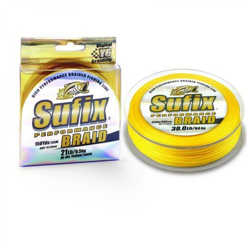 Normark Suffix Performance Braid 1200 Yards 10 Pound Hi-vis Yellow