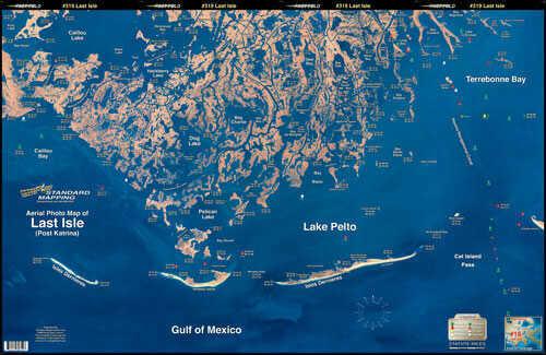 Standard Map Standard Laminated Map Last Isle/Cocodrie Md#: M019