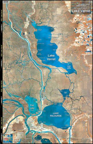 Standard Map Standard Laminated Map Lake Verret Md#: M022