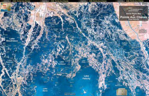 Standard Map Standard Laminated Map Point Au Chein Md#: M028