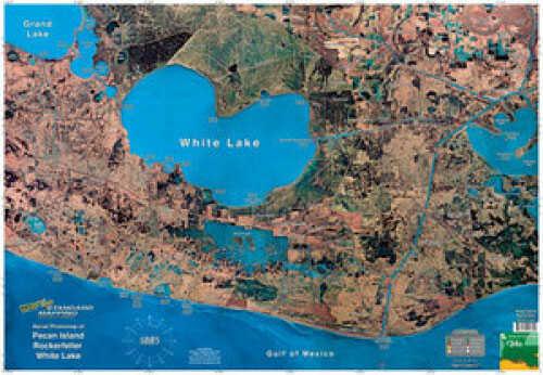 Standard Map Standard Laminated Map Pecan Island/Rockerfella Md#: M034