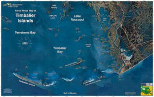 Standard Map Standard Laminated Map Timbalier Island Md#: M038