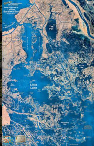 Standard Map Standard Laminated Map Lafitte/Barataria Md#: M040