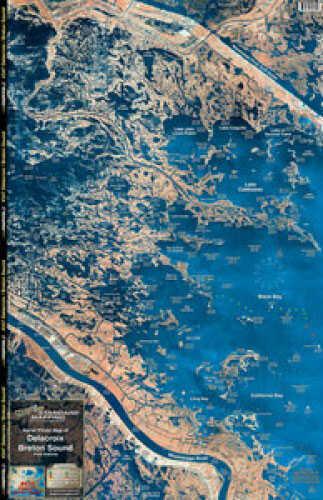 Standard Map Standard Laminated Fast Fold Breton Sound & Delacroix Md#: M347