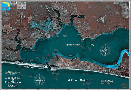 Standard Map Standard Laminated Map Destin Md#: MF121