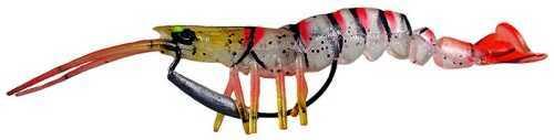Okuma Savage Manic TPE 3D Shrimp 4in 3/11oz Red MS-100-RD