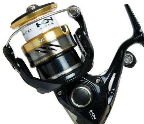 Shimano Nasci Reel Spinning 4bb+1rb 6.2:1 150/12 Model: Nas4000xgfb