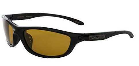 Spiderwire Polarized Sunglasse Arthropod Gloss Blk/Amber Model: SSGAPGBL-A