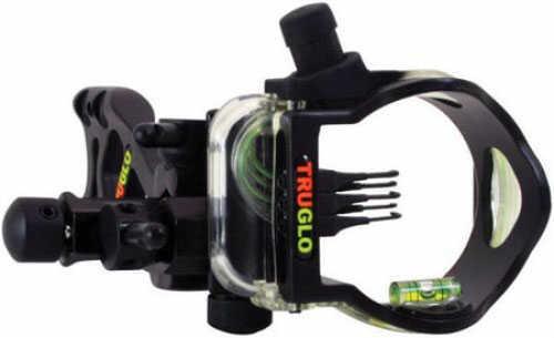 Truglo Bow Sight W/ Light Micro-Brite Black 5-Pin TG5505FB