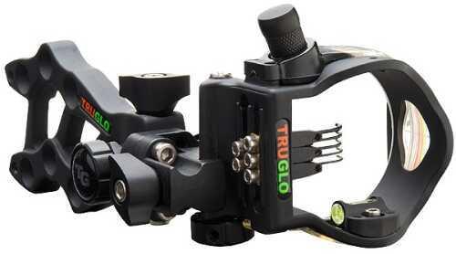 Truglo Bow Sight W/Light Rival Hunter 3 Ddp Black
