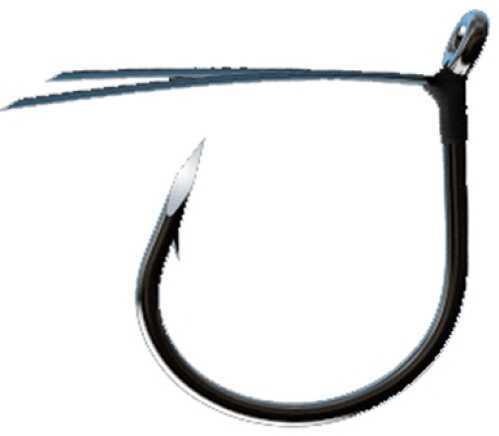Eagle Claw Fishing Tackle Trokar Weedless Wacky Worm Plat Black 6Pk Size 2