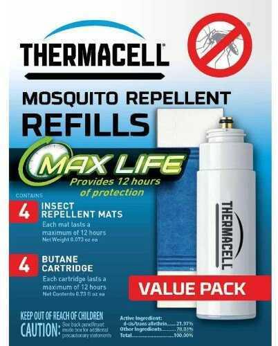 Thermacell Repellent Refills Max Life Model: L-4