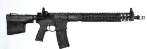 "Troy Industries AR-15 5.56mm NATO Conqueror 3 Gun 18"" Barrel Black Finish Off Set Sights Semi Automatic Rifle CQ315BT00"