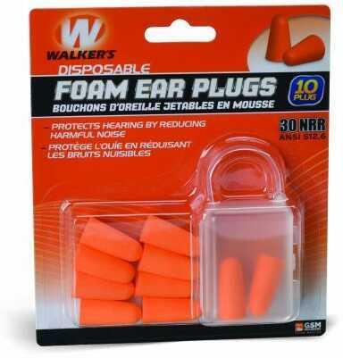 Walker's Game Ear / GSM Outdoors Foam Earplugs 5 Pairs