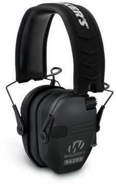 Walker's Game Ear / GSM Outdoors Razor Series- Slim Shooter Folding Muff Black