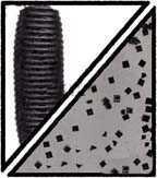 Gary Yamamoto Senko 5in 10pk Smoke w/Black 9-10-150