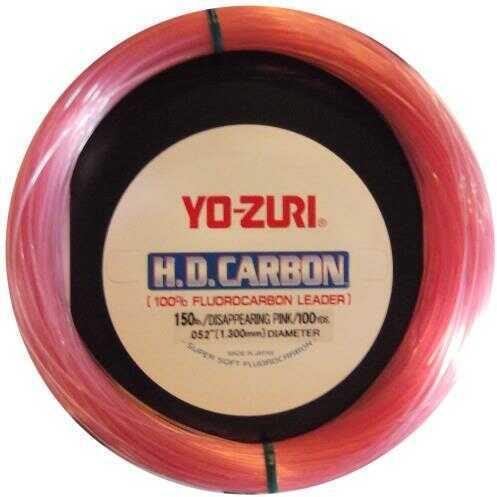 Yo-Zuri America Yozuri Hd Fluorocarbon Leader 100Yd 60Lb Disappearing Pink Model: HD 60LB DP 100 SPL