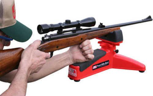 MTM Front Rifle Rest - Ideal Shooting Rest for Rifle Shotgun Handgun Red FRR-30