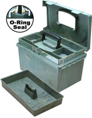 "MTM Sportsmen's Plus Utility Dry Box O-Ring Sealed 15x8.8x9.4"" Wild Camo SPUD1-09"