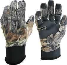 Manzella Productions Manzella Gloves Bobcat MO-Breakup Large MZF-095L