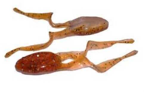 Netbait Frog 4in 8 per bag Rootbeer/Silver Flake Pearl Md#: 15121