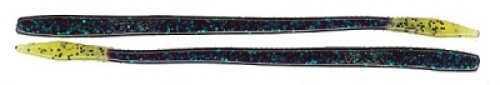 Netbait T-Mac Worm 20/ per bag Junebug/Chartreuse Md#: 21062
