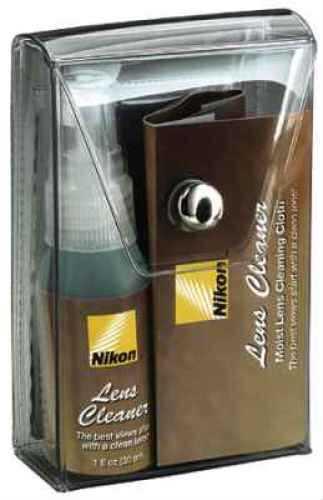 Nikon Lens Cleaner Kit Includes Spray Bottle & Cloths 8176