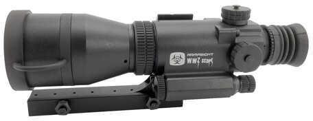 Armasight WWZ Night Vision Rifle Scope 4X 3.5-7 Illuminated Red Cross Reticle Black Generation 1+ Night Vision NWWWWZ000411-11