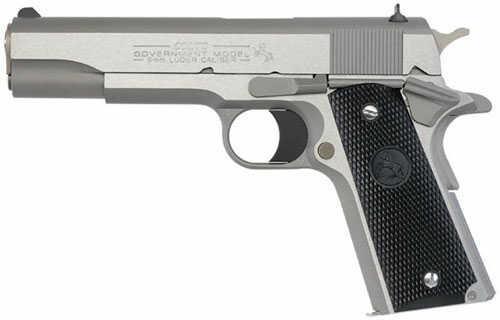 Pistol Colt 1991 GOV'T 9mm Luger Stainless Steel O1092