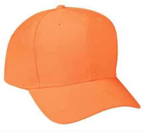 Outdoor Cap 6-Panel Cap Blaze Orange 1-Size Size Adult 201ISBLZ