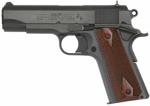 """Pistol Colt 1991 9mm Luger COMMANDER 4.25"""" BLUED SERIES 80 O4610"""