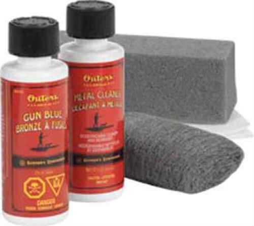 Outers Guncare Outers Gun Blue Gun Blue Kit, Clam 47058