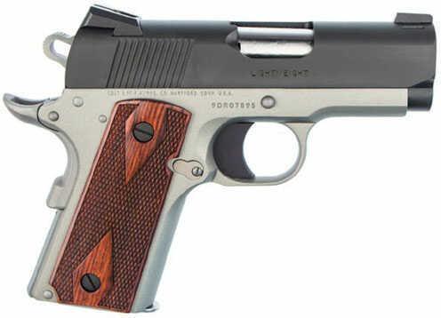 """Pistol Colt DEFENDER 9mm Luger 3"""" Barrel Stainless Steel CERAKOTE & BLACK ION BOND 8rd O7002DSE"""