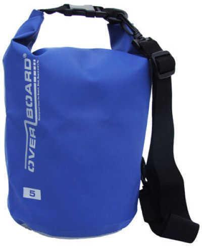 Overboard 5 Liter Deluxe Waterproof Dry Bag - Blue OB1001B