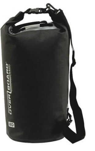 Overboard 20 Liter Deluxe Waterproof Dry Bag - Black OB1005BLK
