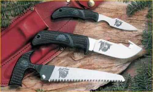 Outdoor Edge Cutlery Corp Outdoor Edge Knife Kit Kodi-Pak Leather Sheath Box KP-1